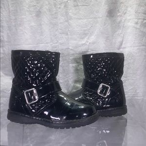 Girls Primigi Boot -Black Pat-  size 26 EU/US 9